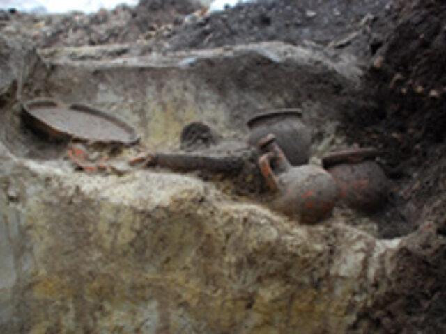 Scoperta una necropoli romana nella Marsica