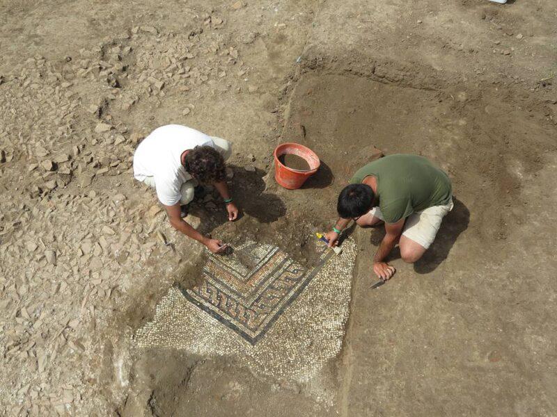Scoperto il terzo mosaico dell'antica Bedriacum.