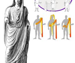 Vestirsi come gli antichi romani