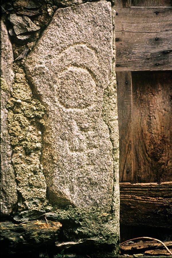 incisioni rupestri: il frammento di stelle di Germasino
