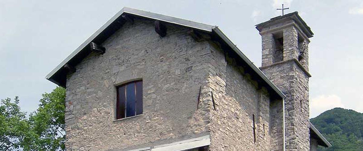 La chiesa di San Vittore a Laino