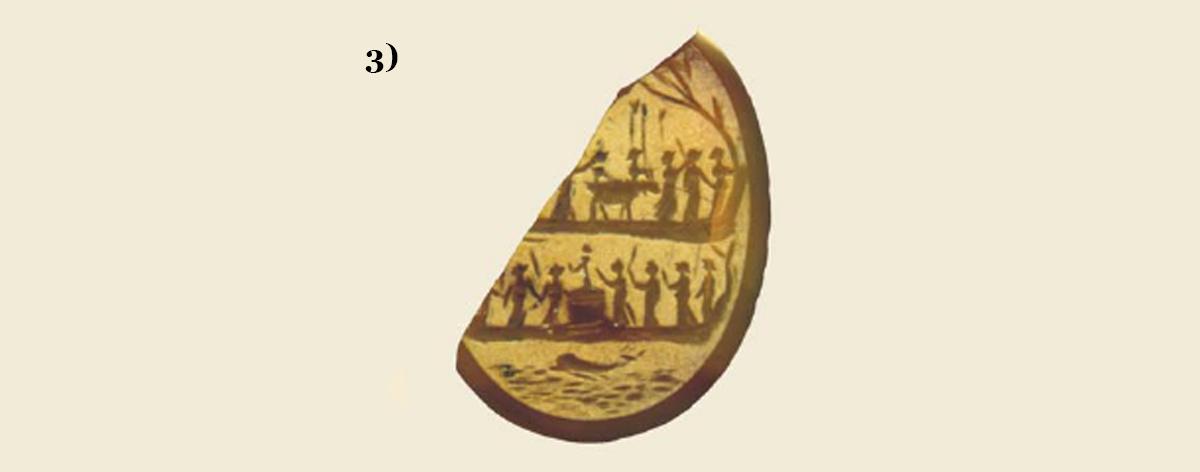 Cammeo di Cartagine, probabilmente raccolto da Garovaglio e donato al Museo di Como