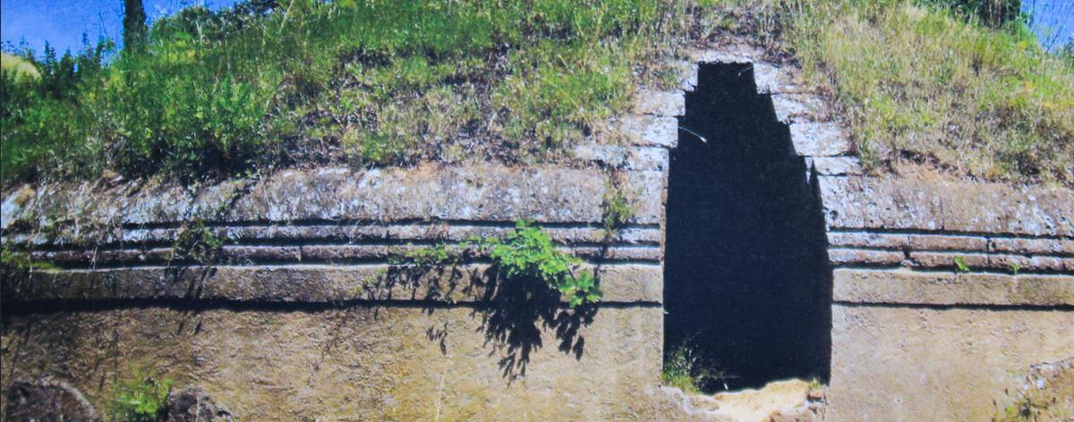 Tomba etrusca a tumulo