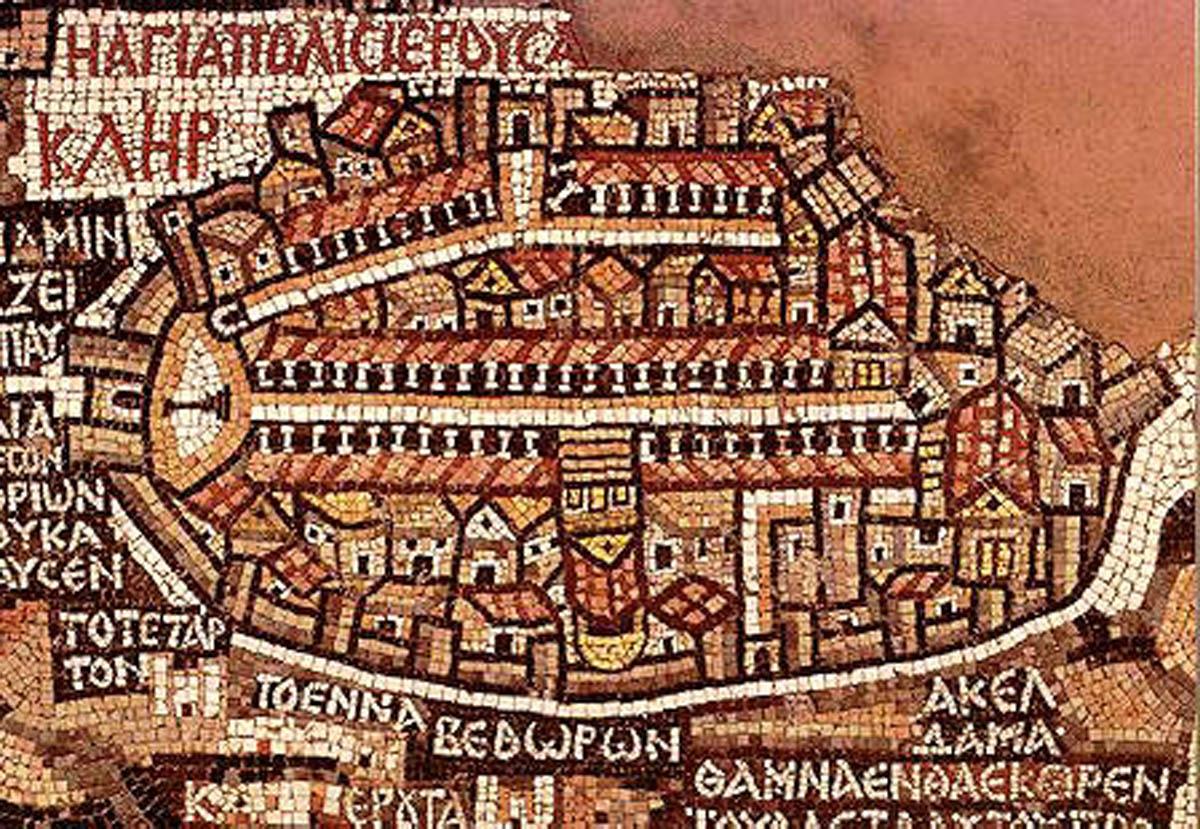 mosaico di Madaba