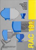 RAComo 191-192 – Rivista Archeologica dell'Antica Provincia e Diocesi di Como