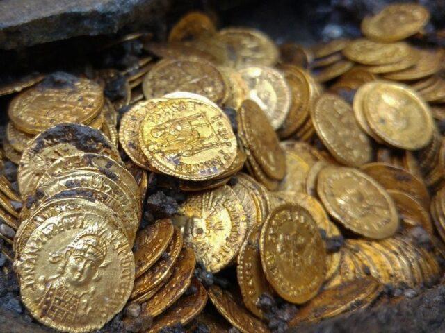 Il Tesoro di Como: lo scavo