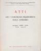 Atti del 1° Convegno preistorico Italo-Svizzero